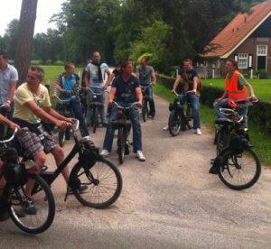 solex rijden in Delden
